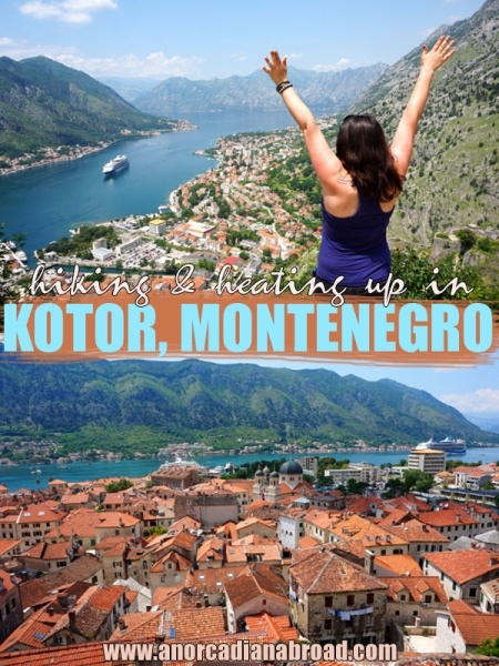 Visit Kotor, Montenegro for some of the best views in the Balkans!