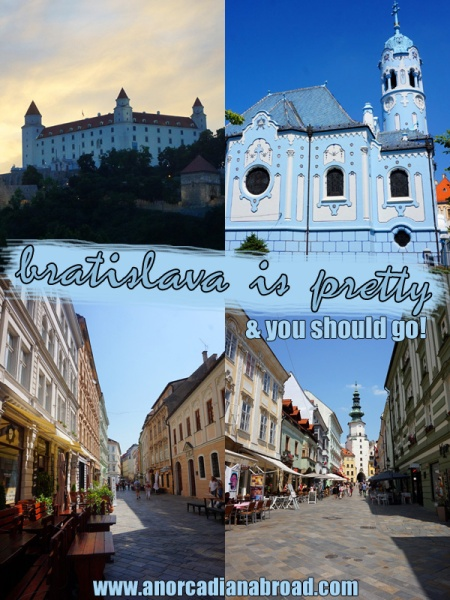 Bratislava is pretty - and you should go! #slovakia #bratislava #europe #travel