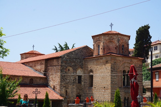 St Sophia church, Ohrid, North Macedonia