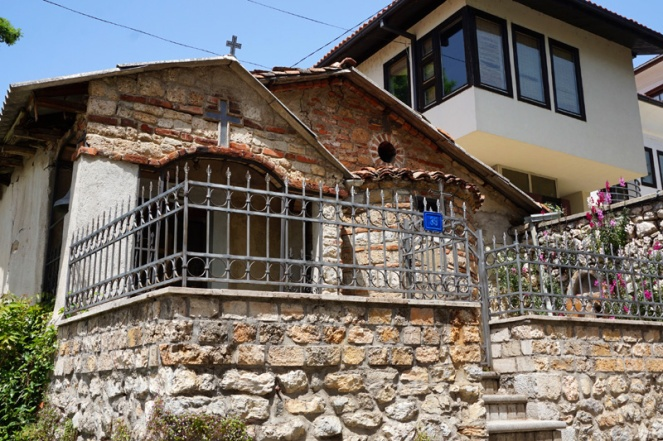 Church in a house, Ohrid, North Macedonia