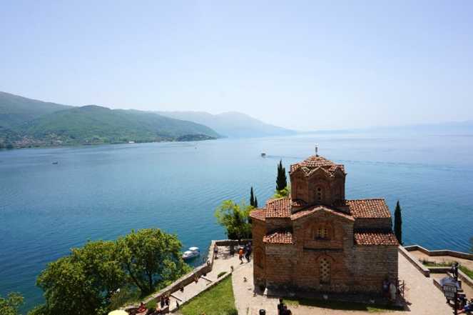 St John church, Lake Ohrid, North Macedonia