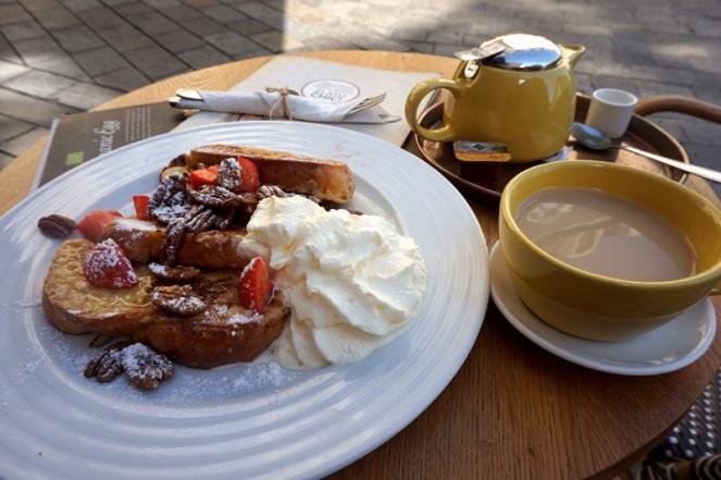 Breakfast at Mondieu, Bratislava, Slovakia
