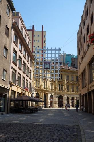 Old Town gate, Bratislava, Slovakia