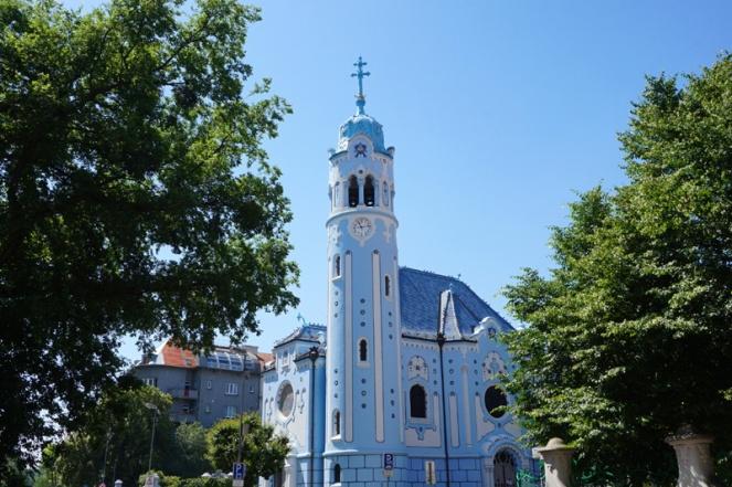Blue church, Bratislava, Slovakia