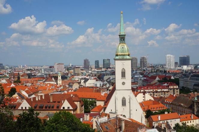 View over Bratislava, Slovakia