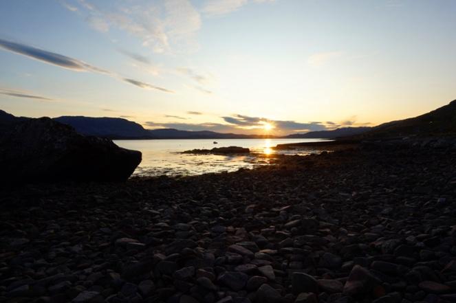 Sunset at Torridon, Scotland
