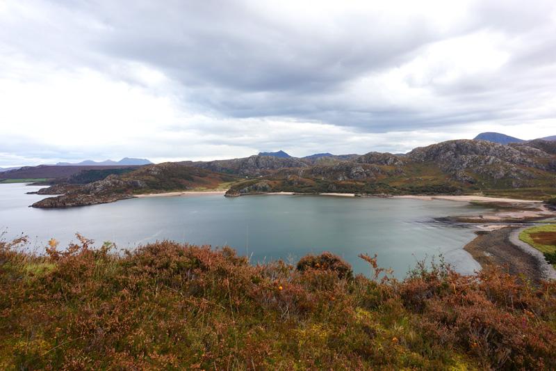 The road to Torridon, Scotland
