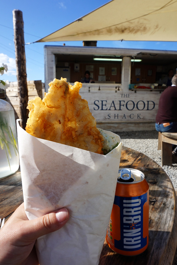 Lunch in Ullapool, Scotland