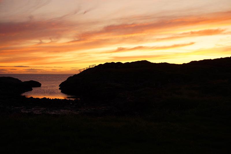 Sunset, Achmelvich beach, Scotland, NC500, North Coast 500 road trip