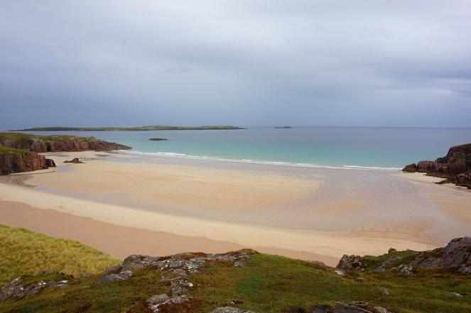 Sangobeg beach, North Coast 500, Scotland, NC500 road trip