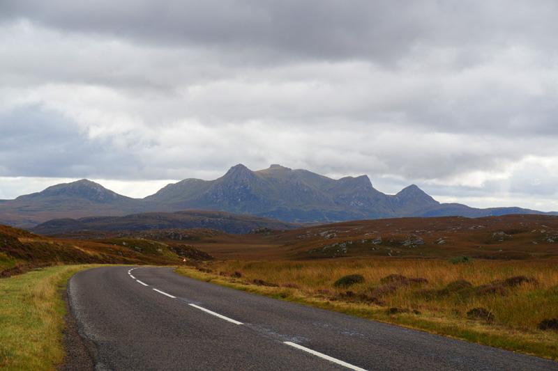 View along to Tongue, Scotland, NC500, North Coast 500 road trip