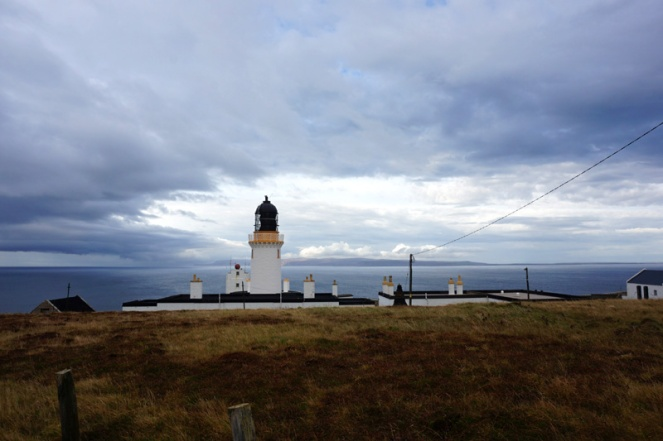 Dunnet Head lighthouse, the most northerly point of Scotland mainland