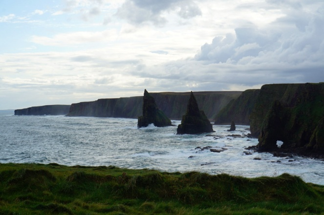Duncansby sea stacks, Scotland