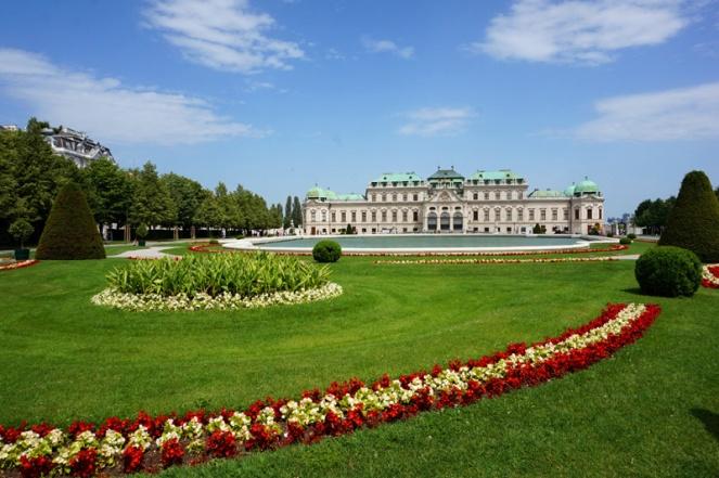 Belvedere Schloss palace, Vienna, Austria