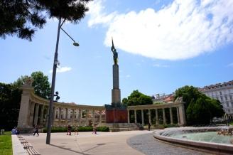 Soviet War Memorial, Vienna, Austria