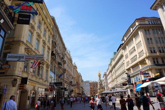 Graben street, Vienna, Austria