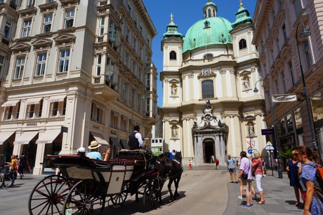 St Peter's catholic church, Vienna, Austria