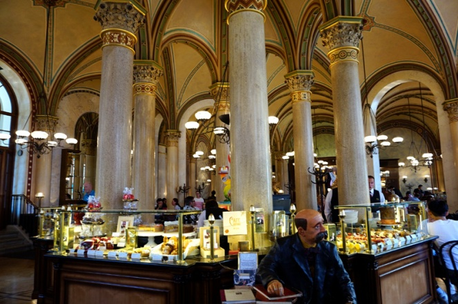 Cafe Central, Vienna, Austria