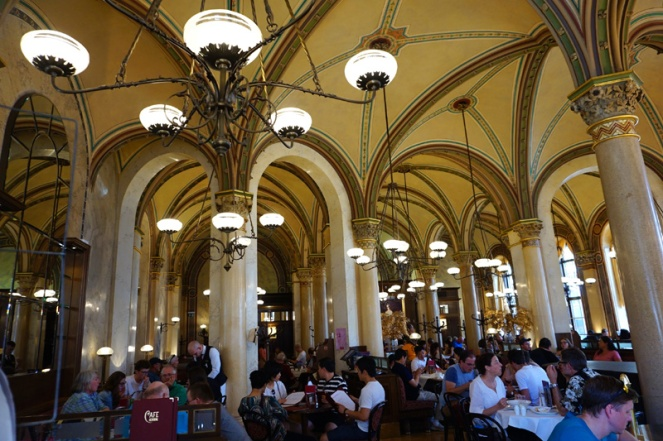 Cafe Central, Vienna, Austria