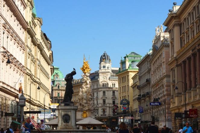 Graben street in Vienna, Austria
