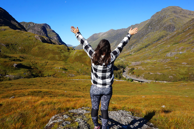 Hiking Glencoe, Scotland