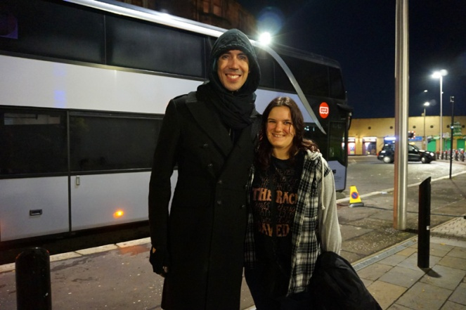 Me with Josh Ramsay, Marianas Trench