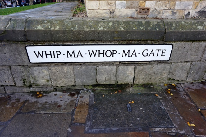 Whip-Ma-Whop-Ma-Gate, York, UK