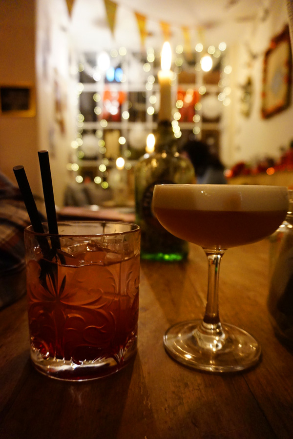 Cocktails at The Nook, York, UK