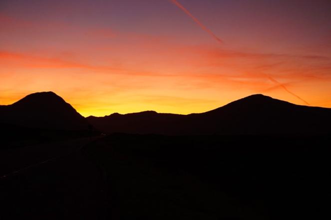 Glencoe sunset, Scotland