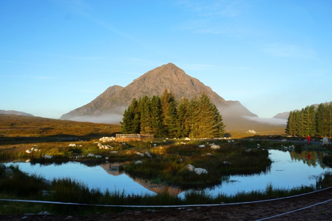 Etive Mor from Kingshouse, Glencoe, Scotland
