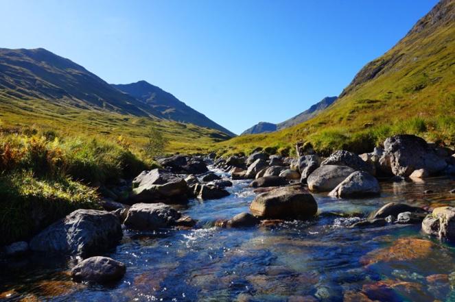 Buachaille Etive Beag walk, Scotland