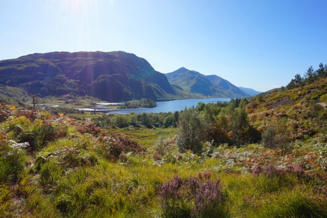 Glenfinnan walk, Loch Shiel, Scotland