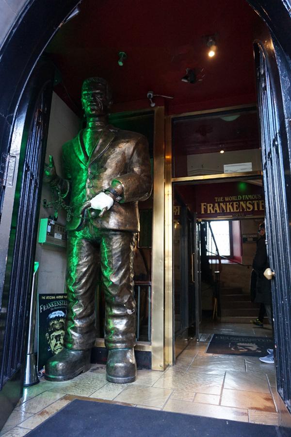 Frankenstein's, Edinburgh, Scotland