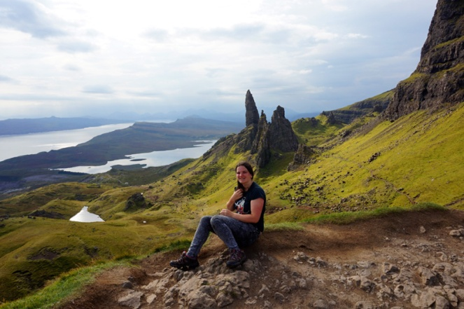Old Man Of Storr hike, Isle Of Skye, Scotland