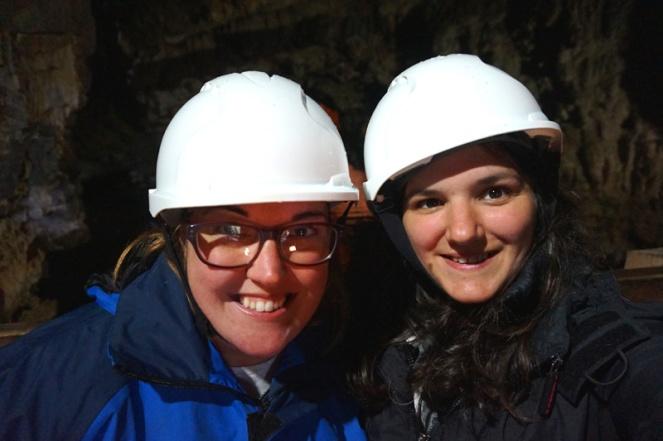Me & Sam in Smoo Cave, Durness, Scotland