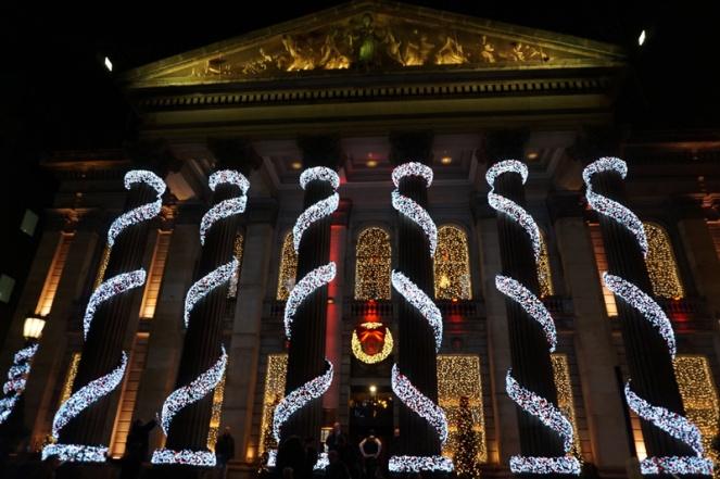 The Dome at Christmas, Edinburgh, Scotland