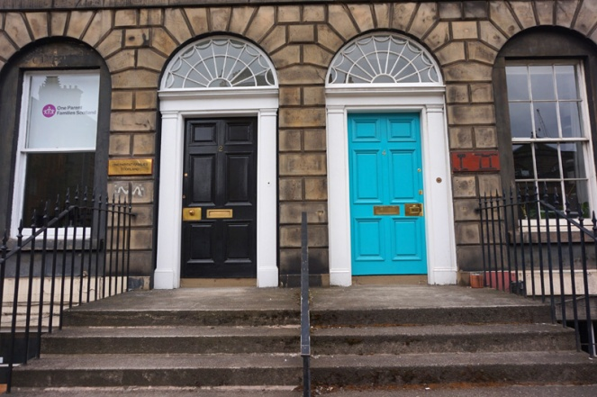 Doors in Edinburgh, Scotland