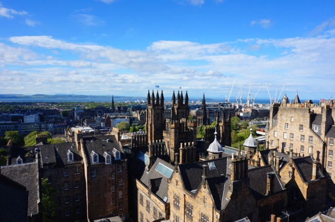 View of Edinburgh from Camera Obscura