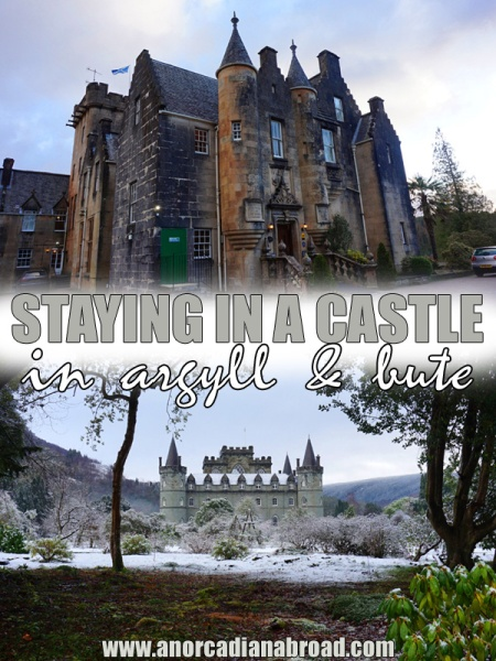 Staying In A Castle In Argyll & Bute, Scotland