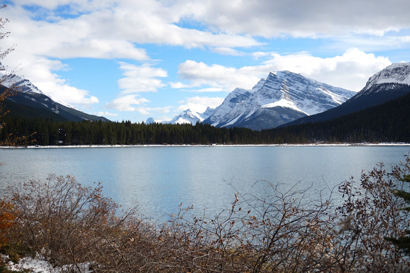 Lake, Icefields Parkway, Canada
