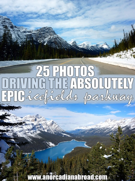 25 Photos Driving The Absolutely Epic Icefields Parkway, Canada