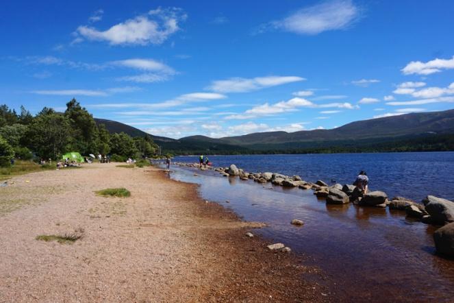Loch Morlich, Aviemore, Cairngorms, Scotland