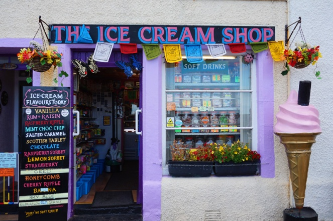 Ice cream shop, Pittenweem, Fife, Scotland
