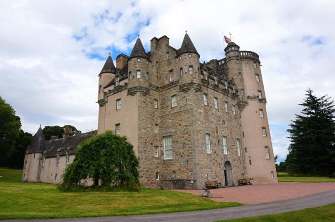 Fraser Castle, Aberdeenshire, Scotland