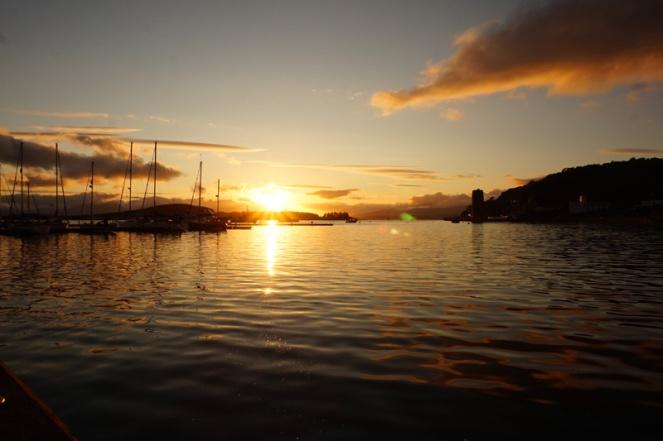 Oban sunset, Scotland