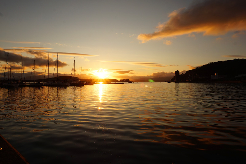 Oban sunset, Scotland