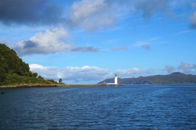 Lighthouse, Isle Of Mull, Scotland
