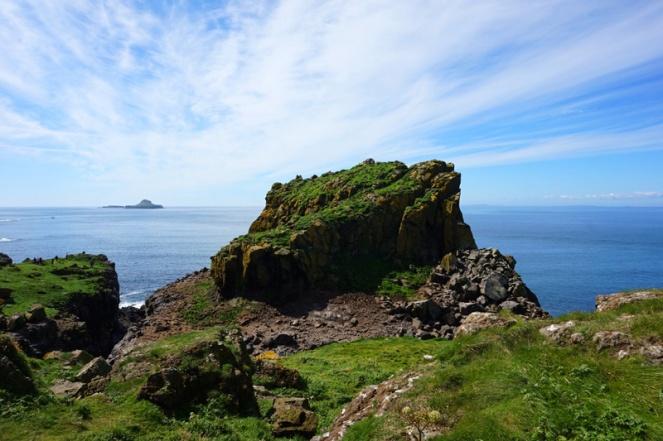 Harp Rock, Lunga, Treshnish Isles, Scotland