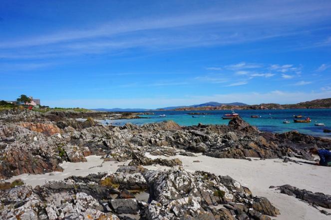 Iona beach, Scotland