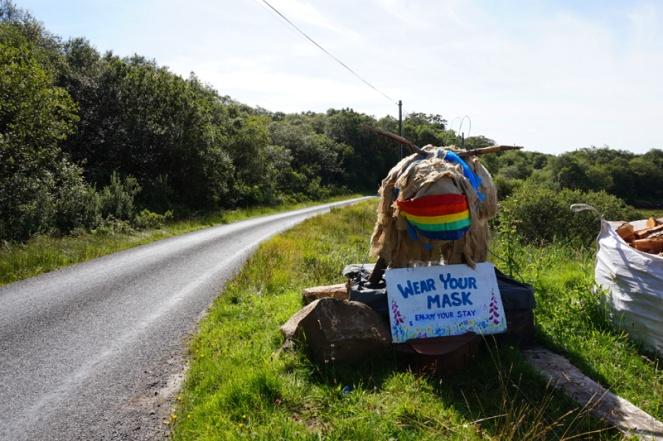 Wear Your Mask, Isle Of Mull, Scotland